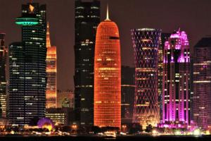 IC-1STAR-001-1306304-Doha after Dusk-Jen Whiting