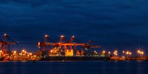 Durban after sunset-Howard Gillitt