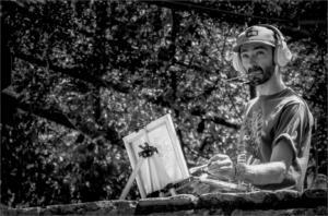 Street Artist in Austin Texas-Andre Roos