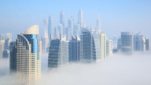 Dubai Misty Morning